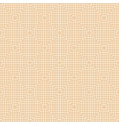White Line Squares Seamless Pattern vector image vector image