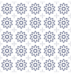 black and white flower background vector image