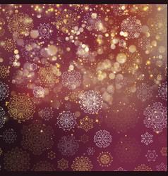 christmas glowing purple template eps 10 vector image