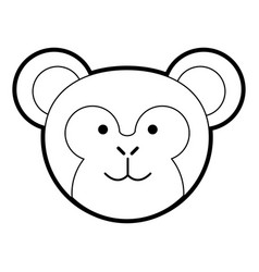 Cute animal cartoon vector