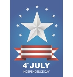 for Independence Day vector image