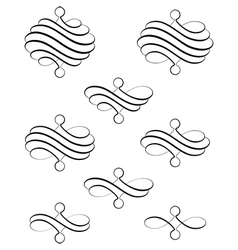 Helical swirl ter vector image