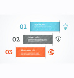 Simple abstract presentation vector