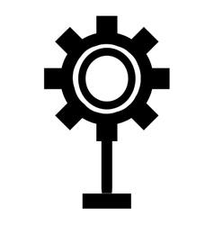 single spotlight icon vector image