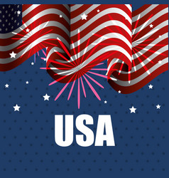 Usa related design vector