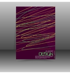 Flyer Design - Business vector image