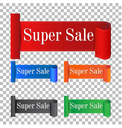 Super sale sticker label on isolated background vector