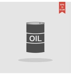 icon barrels of oil vector image