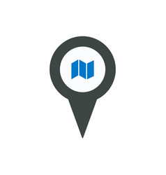 location map marker pin place pointer position vector image