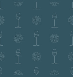 alcoholic drink print for bars and restaurants vector image
