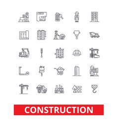 Construction architecture buildings real estate vector