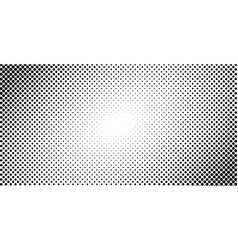 Dotted halftone background or pop art gradient vector