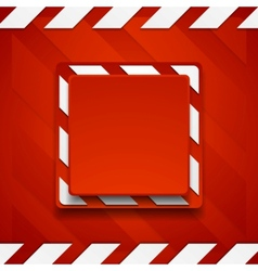 Red abstract geometric corporate background vector image
