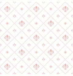 seamless pattern modern geometric ornament vector image