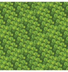 seamless pattern with the leaves vector image