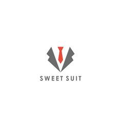 suit symbol design vector image