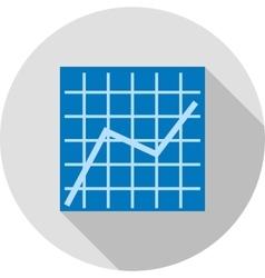Trend Chart vector