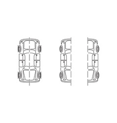 Car-Parts-380x400 vector image vector image