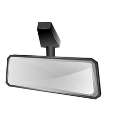 Rear viewer mirror vector