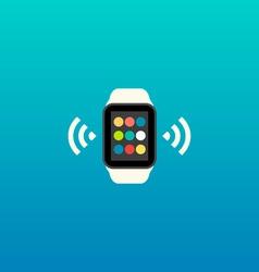 Smart Watch Flat Design vector image vector image