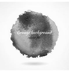 Abstract Dark Grunge Watercolor Background vector image vector image