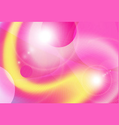 background yellow pink vector image