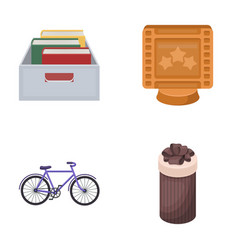education sports and other web icon in cartoon vector image vector image