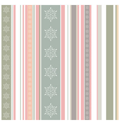 Creative pastel colored winter pattern with vector