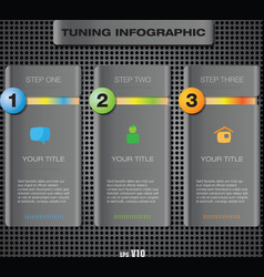 info tuning123 vector image