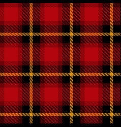 scottish cell fabric vector image