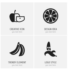 Set of 4 editable kitchenware icons includes vector