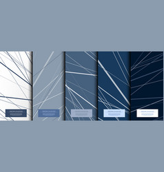 Texture collection abstract pattern texture navy vector