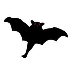 isolated halloween bat vector image