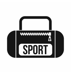 Sports bag icon simple style vector image vector image