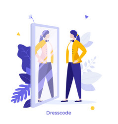 Abstract character concept vector