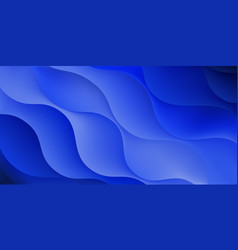 background wavy lines vector image