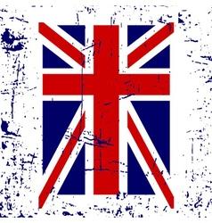 British flag t shirt typography graphic vector image