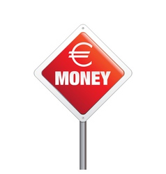 Euro Money Sign vector image