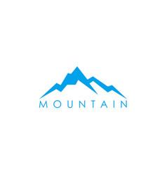 hill symbol design vector image