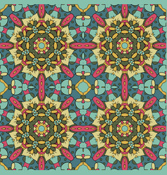 Oriental pattern traditional seamless ornament vector