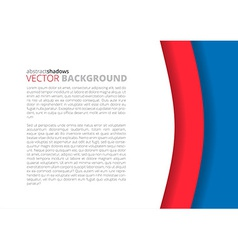 Red background for design vector image