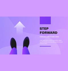 Step forward vector