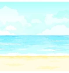 Summer ocean tropical vector