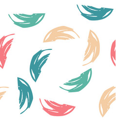 summer seamless pattern with abstract ornament vector image