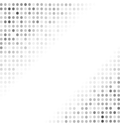 Halftone Patterns Grey Dotted Background vector image vector image