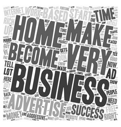 The Aggressive Advertiser text background vector image vector image