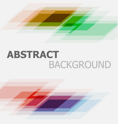 Abstract colorful business straight lines vector