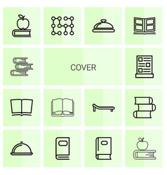Cover icons vector