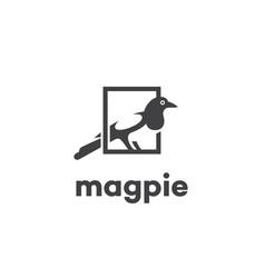 Magpie logo vector