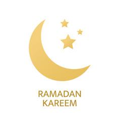 ramadan kareem greeting card eid mubarak banner vector image